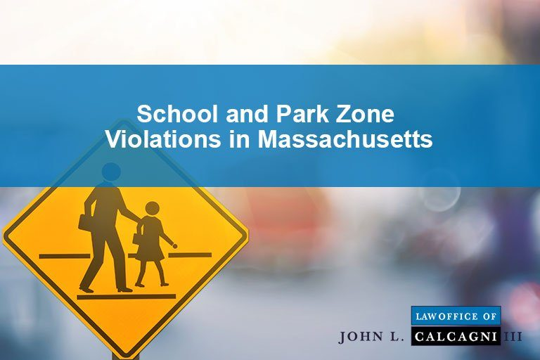 School and Park Zone Violations in Massachusetts